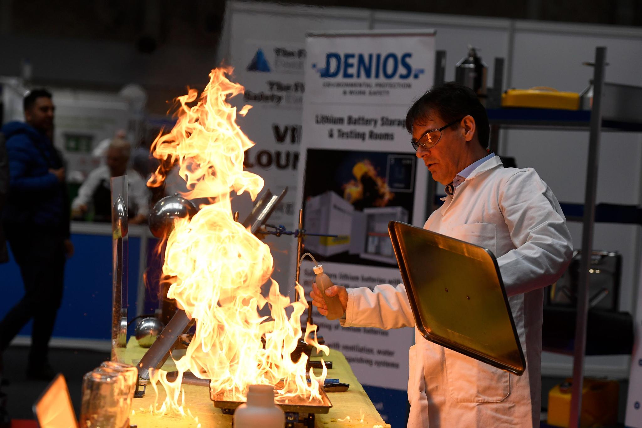 The UK's fastest growing exhibition for fire safety